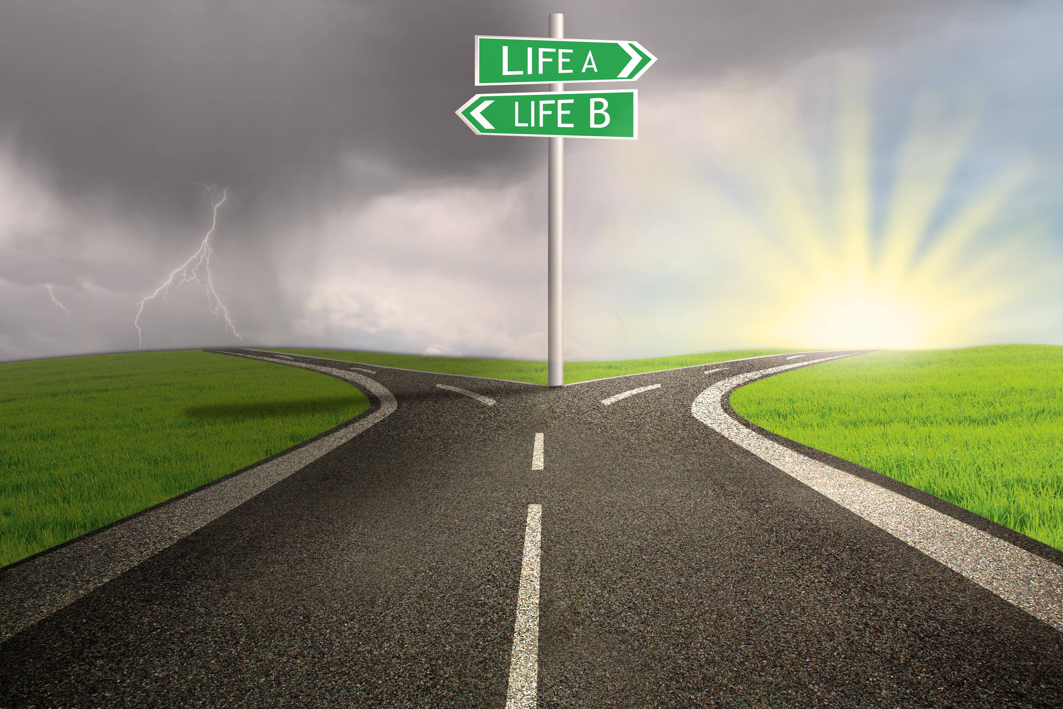 Hidup Jangan Statik - Buat Pilihan Dan Terus Melangkah